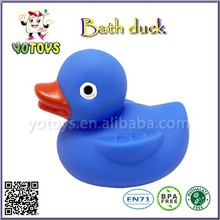 customized cute soft plastic baby bath duck, soft pvc duck bath toys,squeaky plastic toy bath toys
