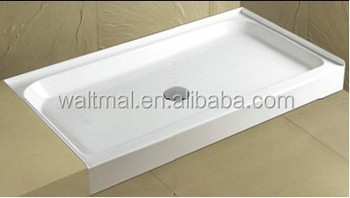"UPC 36""x60"" 3 alcove tile flange shower base for Canadian and USA"