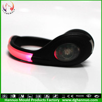 2015 Best selling flash led light rechargeable flat reflective shoe laces with CE and RoHs