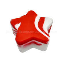 Beautiful five-pointed star silicone tobacco container/box