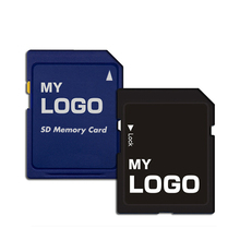 Custom Logo Security Digital Memory Card 16GB 32GB SD Card