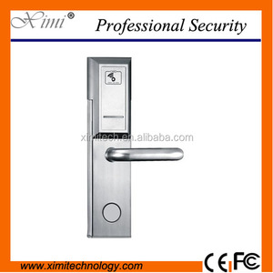 Cheap Price Shenzhen Hot Sale Electronic Guest Room RFID Smart RF Card Hotel Door Lock System