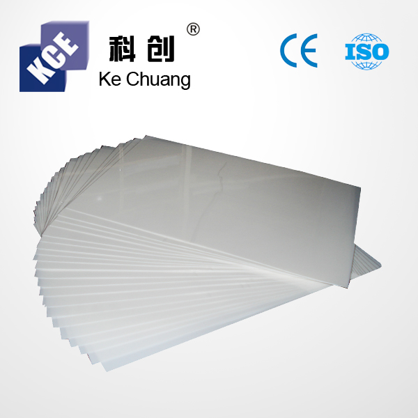 Black and White Double Sides Self-adhesive PVC Sheets