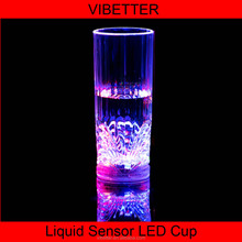 CUP-020 200-300ML Glass vase Led Light Plastic Cup for Flashing Cup for Festive Gift or Bar Party