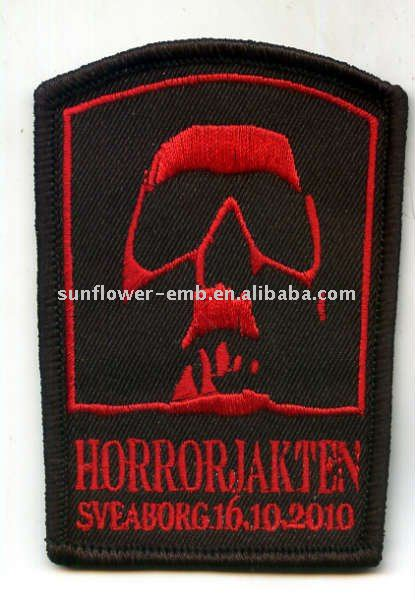 New design Embroidery fashion patch