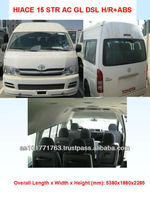 NEW TOYOTA HIACE BUS 15 STR DSL
