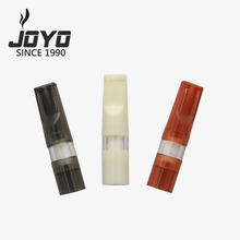The newest MenTobacco pipes skidproof mouthpiece smoking disposable Cigarette Filter cigarette holder for men