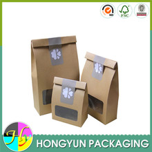 custom design kraft pet food packaging bag