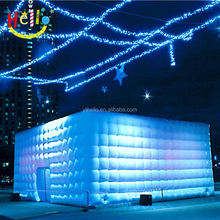 advertising inflatable square cabin cube dome tent