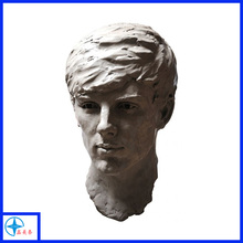 Newest design resin movie characters man head bust statue
