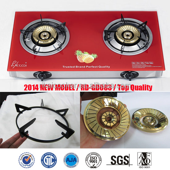 RD-GD083 table gas cooker head gas stove indoor portable gas cooker portable glass top burner