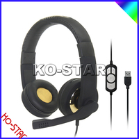 Hot sale Stylish remote control multi-functional gaming USB headsets
