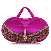 Fashion hot selling bra case as Gifts for friend, new design eva Bra bag