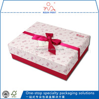 Wholesale XF-F0001 ribbon bow birthday gift paper box