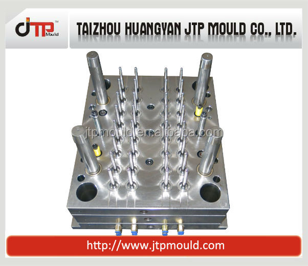Multi cavities good quality plastic test tube mould medical mould