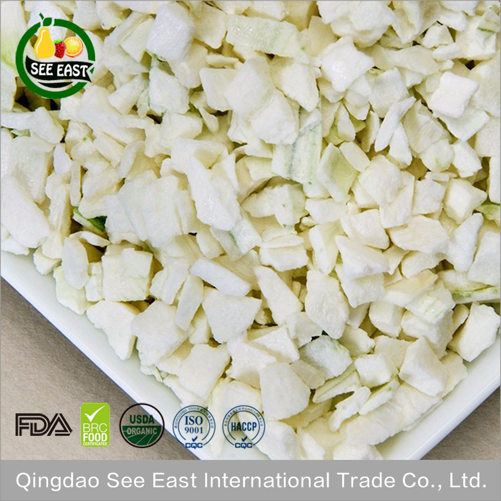 HACCP certified FD vegetable freeze dried organic white onion for fast food