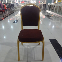 Factory wholesale high quality stacking banquet chair, banquet chair in metal