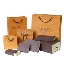 Trade assurance Yiwu factory price gift paper bags, paper gift bag with ribbon bow, good quality paper bag for gift
