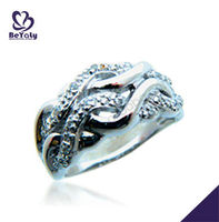2013 China wholesale fashion high grade gift jewelry silver ring free ring design software