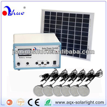 10W Solar Panel with 6 Lamps, for Home Lighting
