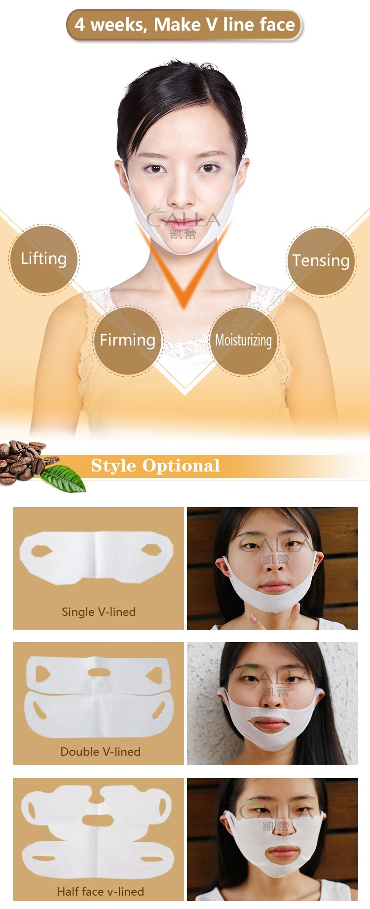 Sliming face Vline lifting mask