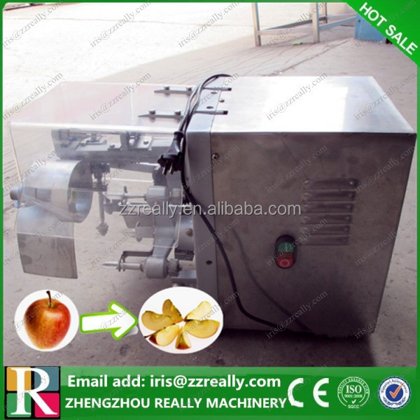 Electric automatic apple pineapple peeler corer slicer