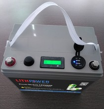 li-ion 12v 30ah/120ah/24v 50ah lithium ion battery with LCD indicator and 5v USB
