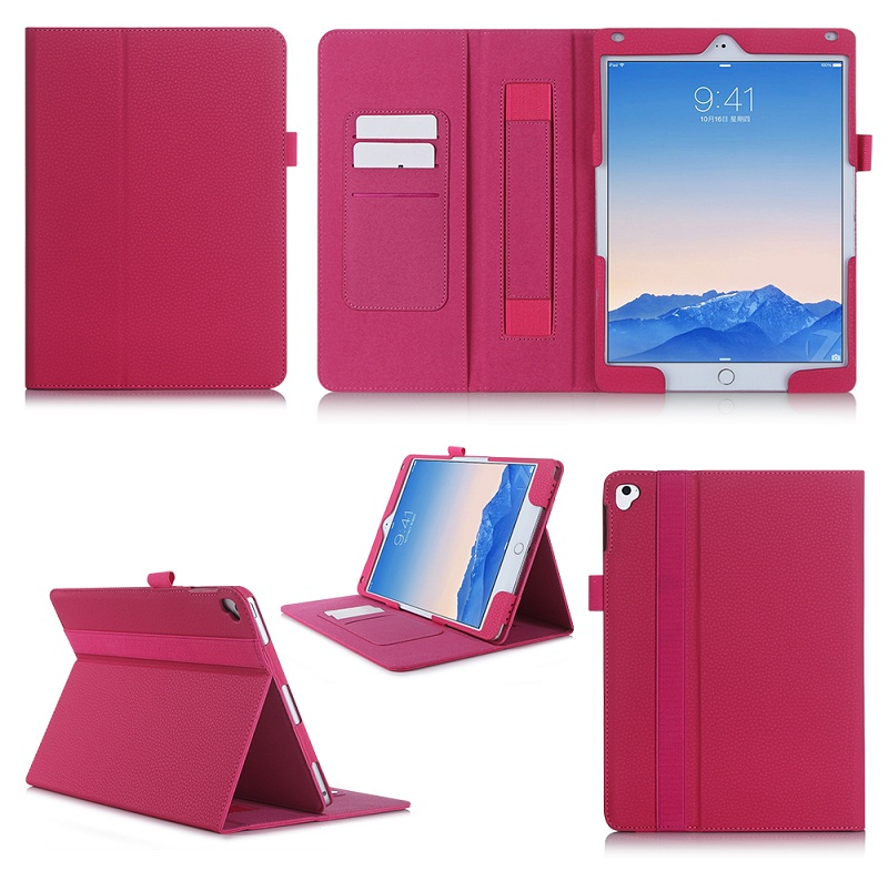 Leather Shockproof Flip Cover Durable Wallet Tablet Case For iPad Pro 9.7 inch
