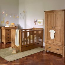 Oak bedroom sets wood north europe design furniture