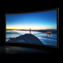 SCREENPRO indoor fixed screen Curved Screen with 90 mm width frame