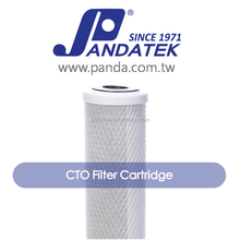 FDA Approval Taiwan Supply 20 inch CTO filter Activated carbon cartridge for water ro system