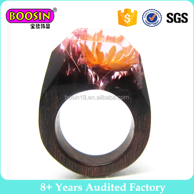 Tungsten Carbide Wedding Band Wood imitation inlay Anniversary Ring Jewelry