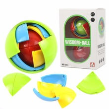3D Wisdom Puzzle Magic Ball Intelligence Game Maze Learning Toy