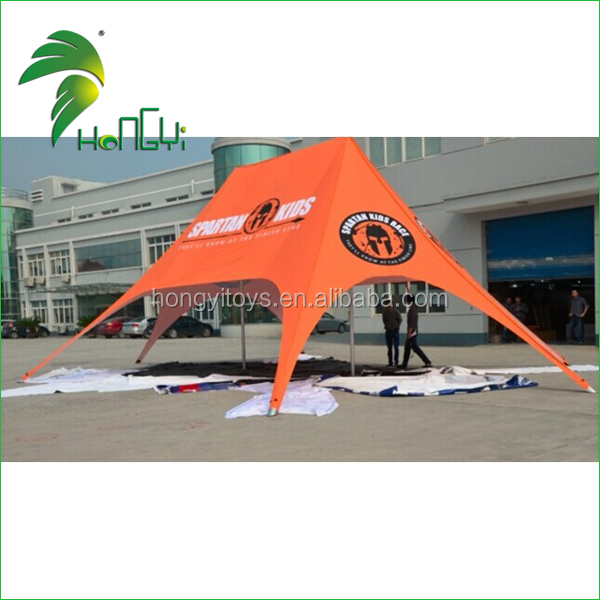 Outdoor Spider Advertising Black Star shade Tent