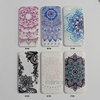 New Design Color Printed Bohemian Dreams Mandala Lace Protective Soft TPU Phone Case For iPhone 8 4.7inch