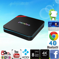 2017 New product Pendoo X9 Pro S912 2G 16G android tv box full hd media player 1080p for medical use KODI smart tv box