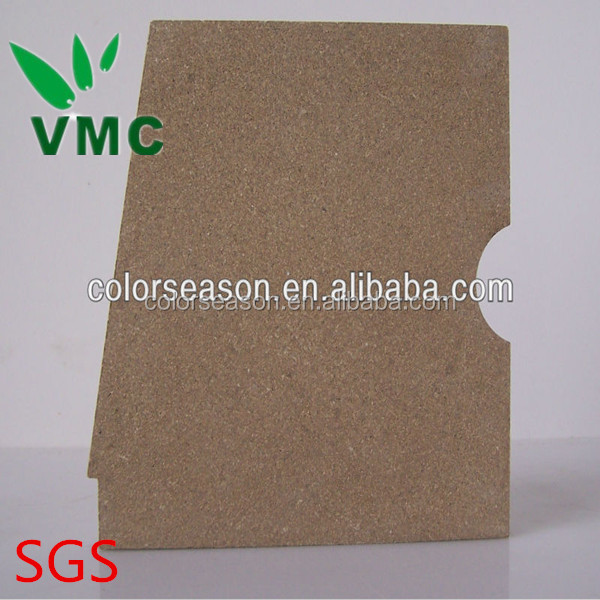Top Quality Fireproof Insulation Vermiculite Fire Board for Wood Stove