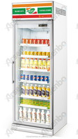 single door Luxurious beverage display cooler/drinks display fridge/supermarket display refrigerator/Commercial refrigerator