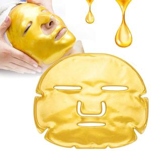 24k gold collagen crystal facial mask for Anti Aging, Whitening, Puffiness, Anti Wrinkle and Moisturizing face mask