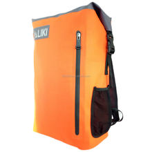 Roll Top 600D TPU Travel Foldable Waterproof Sport Backpack Bag For Camera