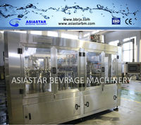 Carbonated Water Filling Machinery or Bottling Equipment