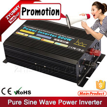 Input Output Isolated 600W DC to AC pure sine wave inverter
