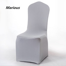 Factory price chair cover beat quality spandex chair cover wedding decoration for sale