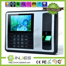Distributor Wanted 4.0 Inch TCP IP USB PC Based Biometric Punch Card Attendance Machine