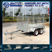 double axle trailer