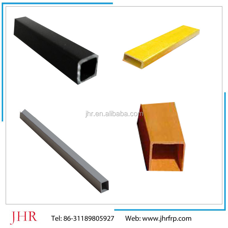 Long service time fiberglass tube, fiberglass pipe, fiberglass square pipes, 75*75mm