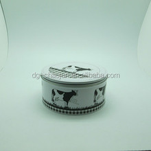 wholesale round tin can cake boxes customized
