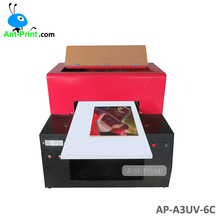 China Manufacturer A4 Digital Flatbed UV Printer With 16*36cm Printing Machine For Ceramic Tiles