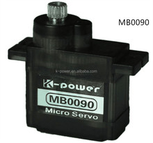 MB0090 micro 9g servo/analog metal gear rc servo /micro servo for toys&hobbies