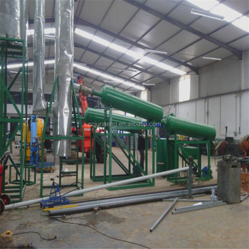JNC series black used oil recycling plant